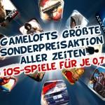 Grosse Gameloft iOS Aktion: 20 Games für 1 Franken