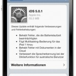 Apple veröffentlicht iOS 5.01 – Download Links