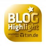 t3n zeichnet iFrick.ch als Blog Highlight aus