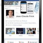 Update der Facebook iOS App bringt Timeline aufs iPhone