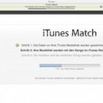 iTunes Match in Europa aktiviert: Erster Eindruck