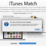 iTunes Match: Apple sperrt neue Registrierungen
