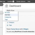 WordPress 3.3 veröffentlicht