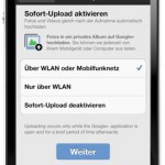 Google+: iPhone App nun mit Instant Upload