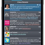 Plume Twitter Client neu in Ice Cream Sandwich Optik
