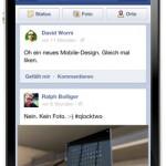 Facebook bringt neues Design für mobile Apps – Ähnlich wie iOS Google+ App