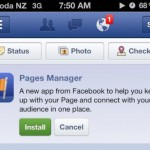 Facebook Pages Manager kommt: Fanseiten mit dem iPhone verwalten