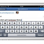 Sparrow für iPhone: Update bringt Landscape Modus