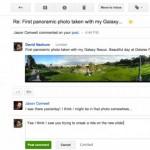 Gmail: Per Mail auf Google+ Posts antworten nun möglich