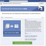 Facebook: 900 Millionen User dürfen abstimmen aber keiner merkt's