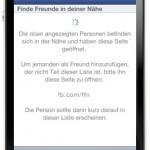 """Facebook deaktiviert """"Freunde in der Nähe finden"""" wieder"""