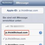 iOS 6: Apple führt @iCloud.com Mailadressen ein