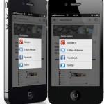 Chrome für iOS: Sharing zu Facebook, Twitter & Google+