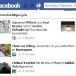 Facebook Benachrichtigungen neu mit Bild Vorschau