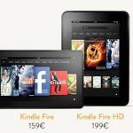 Amazon Kindle Fire HD auch in Deutschland erhältlich