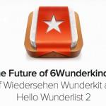 Bye bye Wunderkit – Wunderlist 2 kommt später im Jahr