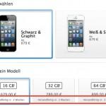 iPhone 5: Lieferzeit steigt auf 2 Wochen