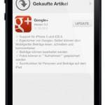 Google+: Update für iOS und Android App bringt Support für Seiten