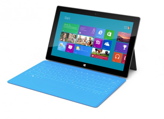 Microsoft Surface Tablet Blue