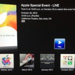 iPad Mini Event: Apple bietet Live Stream via Apple TV