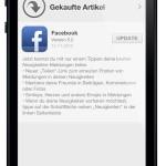 Facebook: Teilen per mobile App endlich möglich