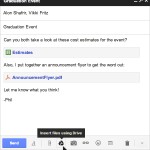 Google Drive ab sofort in Gmail integriert