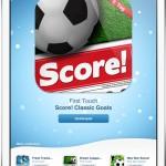 Apple: Score! Classic Goals App heute Gratis