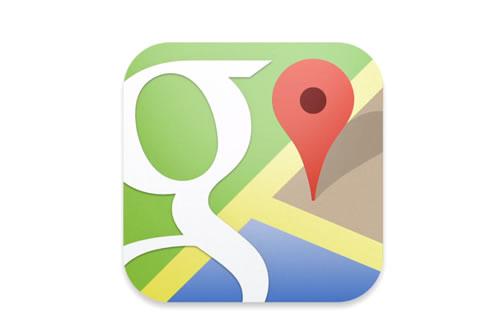Google Maps iOS App Logo