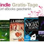 Amazon verschenkt ab heute eBooks – 5 zum Start