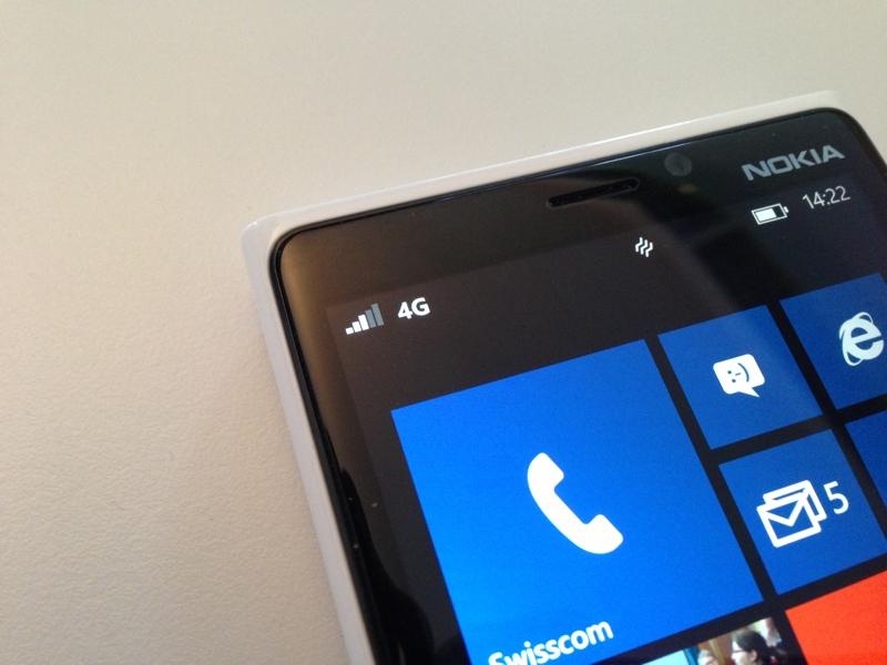 Test LTE Netz von Swisscom: Lumia 920 auf Speed