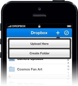 Dropbox iOS V2 Foto Upload