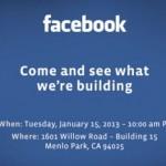 Facebook lädt Presse zu Event ein: Kommt das Facebook Phone ?