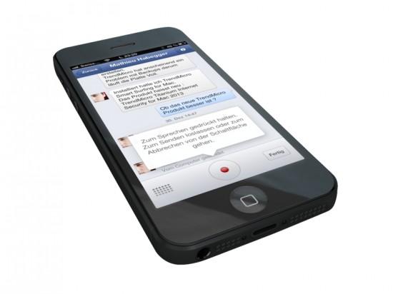 Facebook Messenger Voice Update