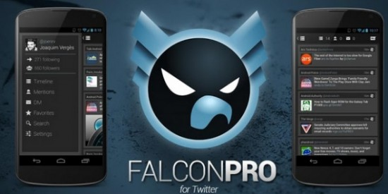 Falcon Pro Twitter App for Android