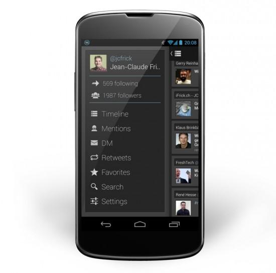 Falcon Pro on Nexus 4 Small