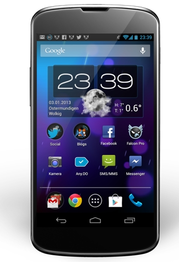 Google Nexus 4 Homescreen JC