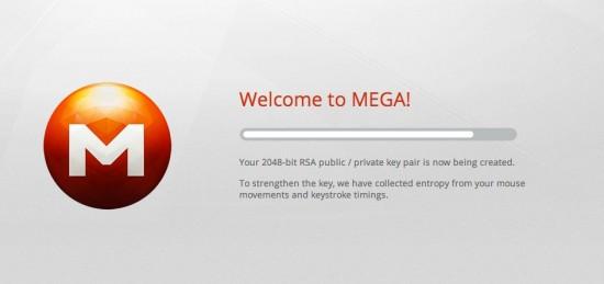 MEGA RSA Key