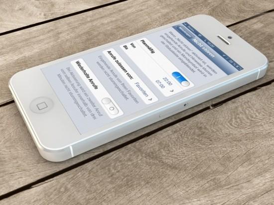Nicht stören iOS 6 iPhone 5