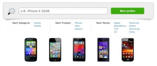 Verkaufen.ch Search