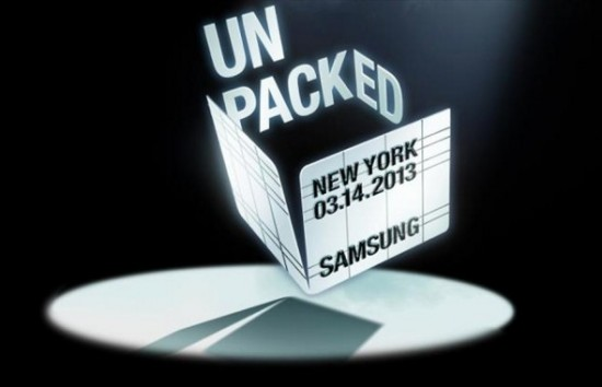 Samsung Galaxy S4 Unpacked Event