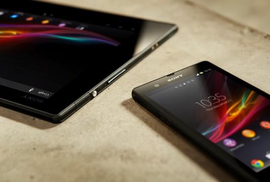 Sony Xperia Z Tablet & Phone