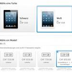 Apple iPad mit 128 GB ab heute im Handel erhältlich