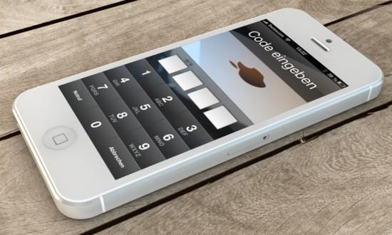 iPhone 5 Lockscreen Passcode