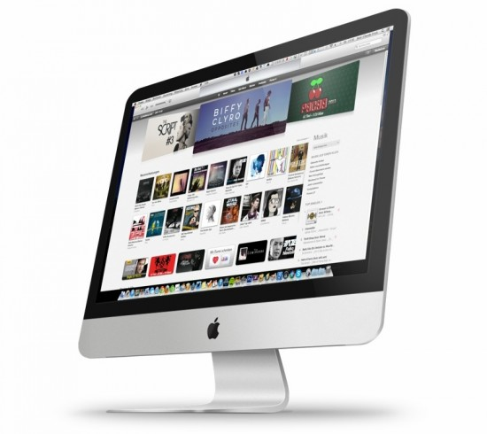 iTunes on iMac 2012