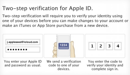 Apple Two Step Security
