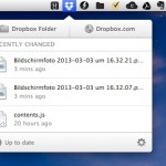 Dropbox testet neues Menü – Download Link