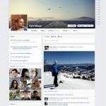 Facebook erhält auch neues Timeline Design
