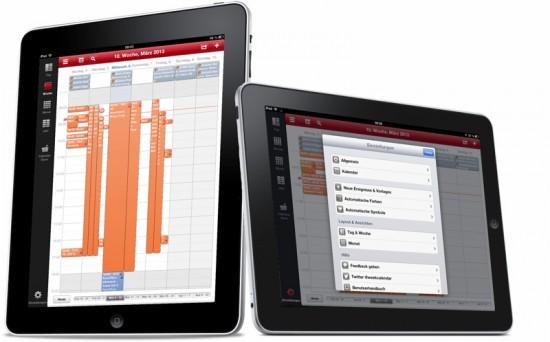 Week Calendar HD on iPad