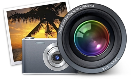 Aperture and iPhoto Logos
