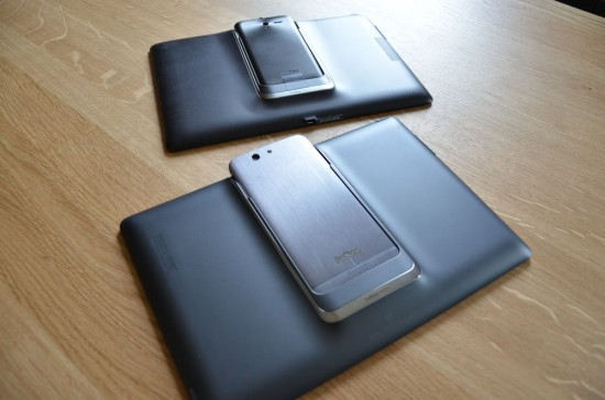 Asus Padfone Infinity and Padfone 2